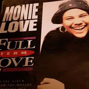 Monie love 33 1/3 2 sided vinyl